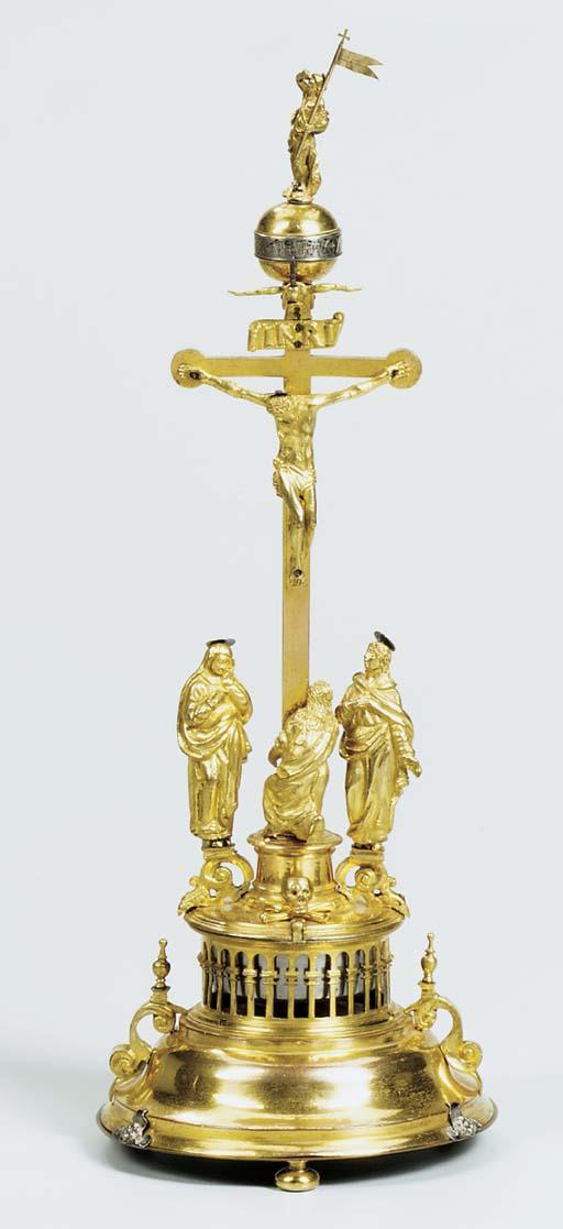A Swiss/German gilt-metal stri