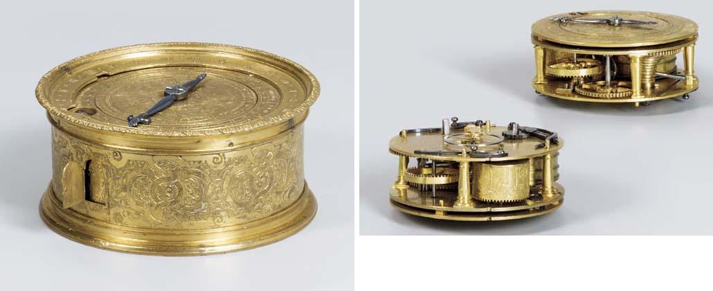 A French gilt-metal astronomic