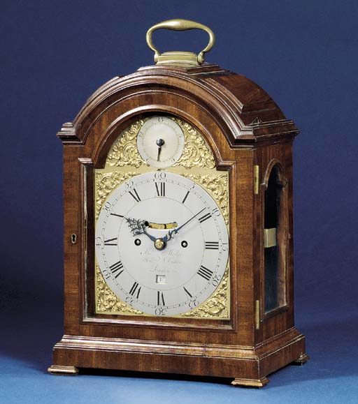 A George III mahogany striking