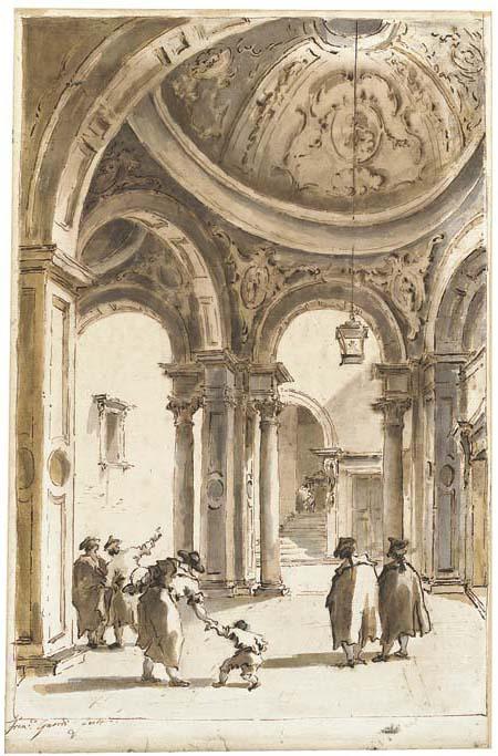 Francesco Guardi (Venice 1712-1793) and Giacomo Guardi (Venice 1764-1835)