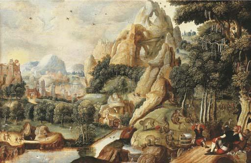 Circle of Lucas Gassel (Helmon