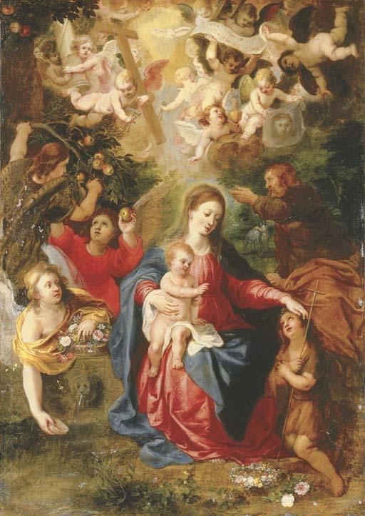 Hendrick van Balen (Antwerp 1575-132) and Jan Brueghel II (Antwerp 1601-1678)
