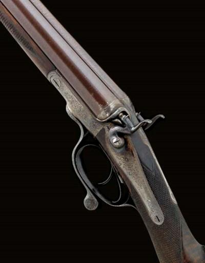 A 12-BORE HAMMER GUN BY E. M.