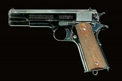 A COLT .45 (ACP) MODEL 1911 'G
