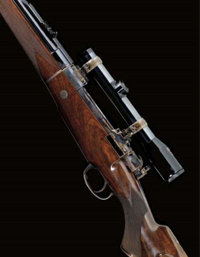 AN EXCEPTIONAL .416 (RIGBY) TA