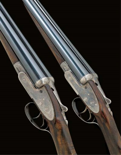 A COMPOSED PAIR OF 12-BORE SEL