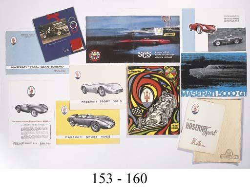 Maserati 300S - A rare sales l
