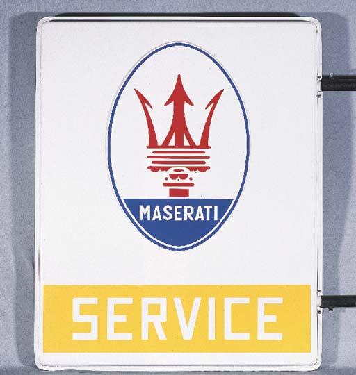 Maserati Service - An original