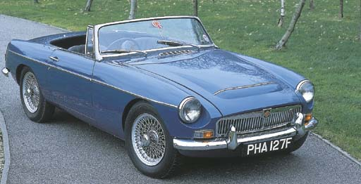 1968 MGC TWO SEATER ROADSTER