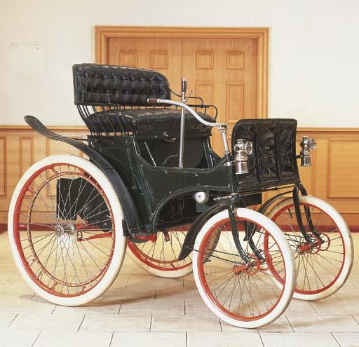 1898 HERTEL 3½HP TWO SEATER RU