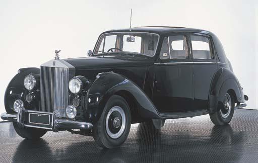 1951 ROLLS-ROYCE SILVER DAWN S