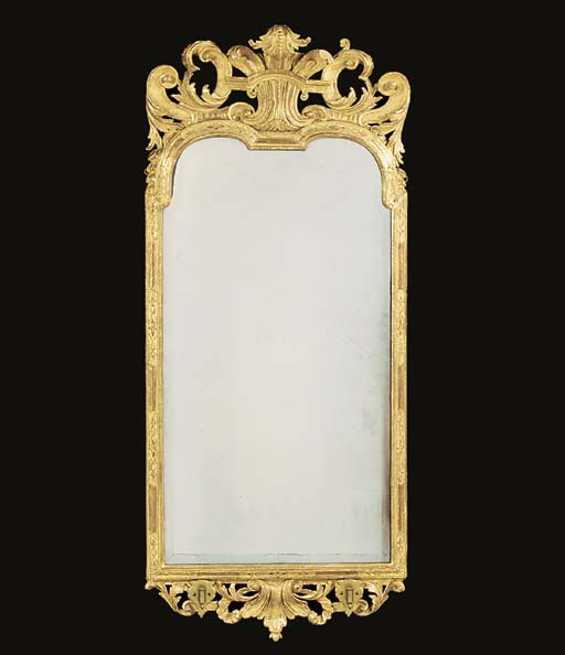 A QUEEN ANNE GILT-GESSO AND GI