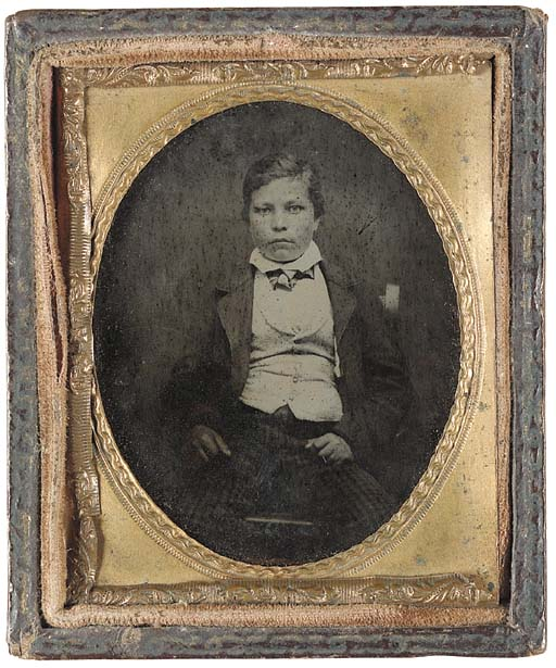 THE FIRST PHOTOGRAPH OF JOHN R