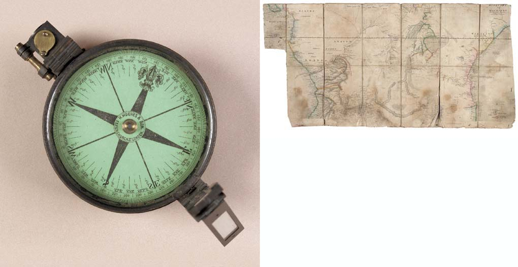 THE COMPASS USED ON THE TRANS-