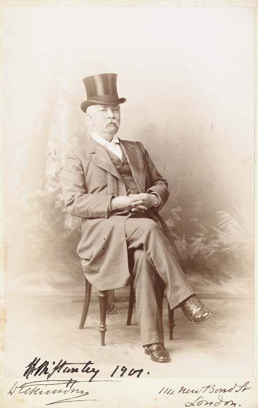 STANLEY IN LATER LIFE