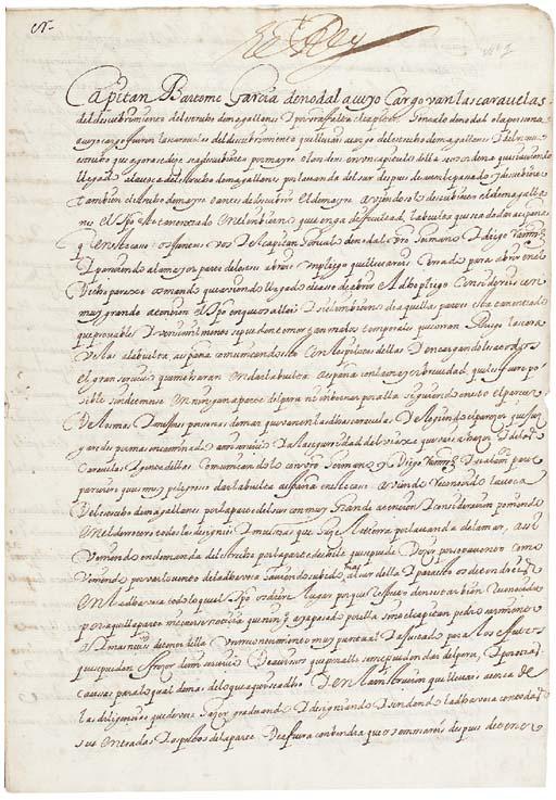 BARTOLOME GARCIA DE NODAL (1574-1622)