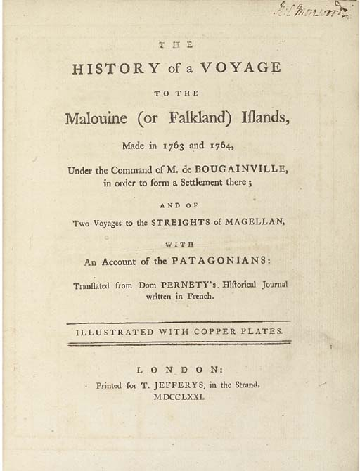 ANTOINE JOSEPH PERNETY (1716-1