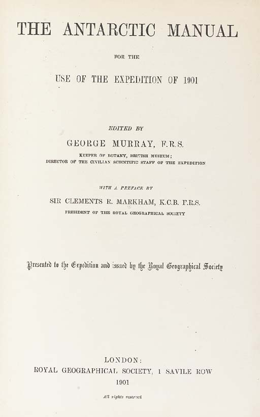 GEORGE ROBERT MILNE MURRAY (18