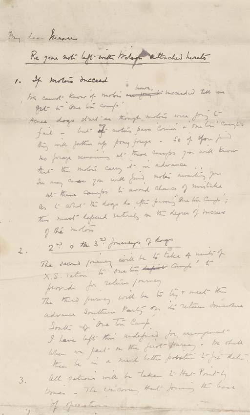 ROBERT FALCON SCOTT (1868-1913