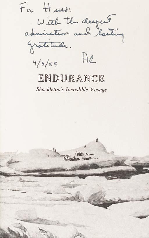 ALFRED LANSING. Endurance, Sha