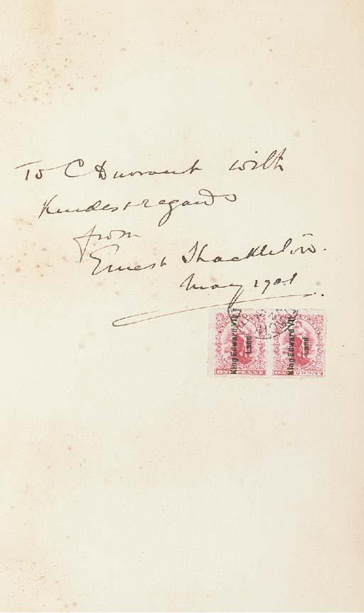 Sir Ernest Henry SHACKLETON (1