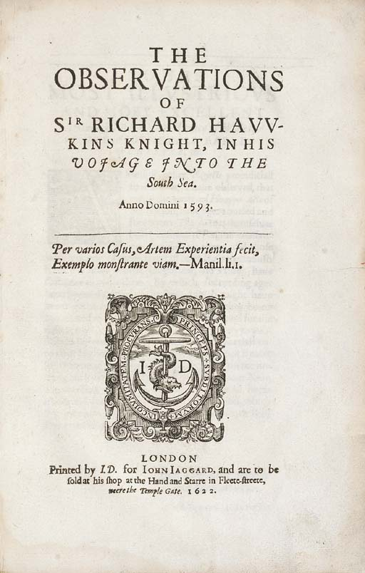 SIR RICHARD HAWKINS (1562?-162