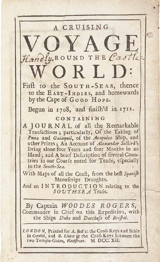 WOODES ROGERS (d.1732)