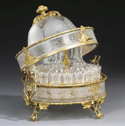 A French ormolu-mounted froste