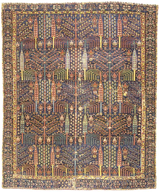 A NORTH WEST PERSIAN TREE CARP