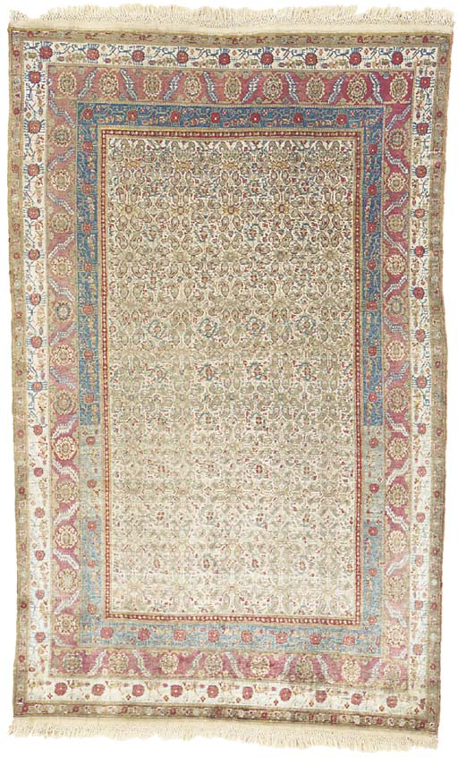 A SILK BAKSHAISH RUG