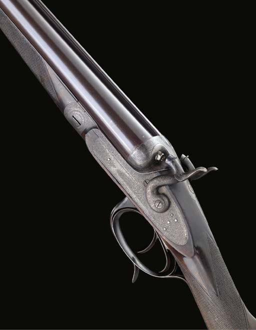 A 12-BORE BAR-IN-WOOD SIDELOCK