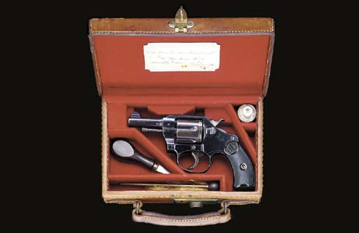 A COLT .32 'POCKET POSITIVE' D