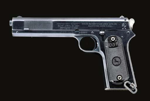 A COLT .380 (ACP) MODEL 1902 A