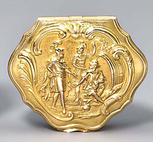 A gold vinaigrette