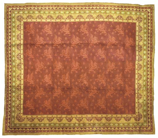 A Wool Gothic Revival Carpet