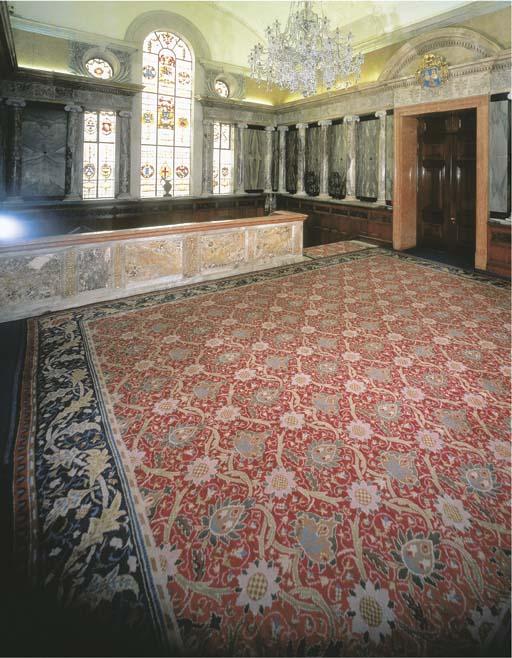 A Morris & Co. Hand woven Carp