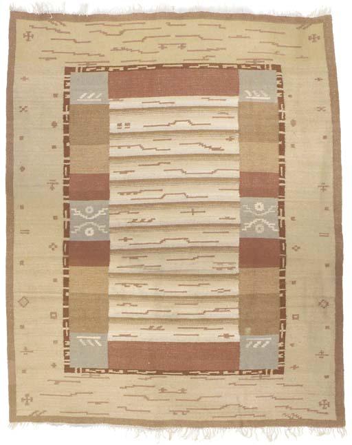 A Flat-Weave Ryijy Carpet
