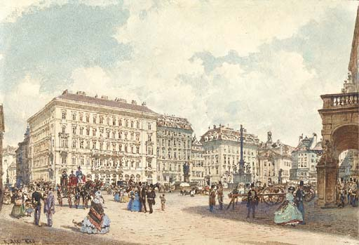 Rudolph von Alt (Austrian, 181