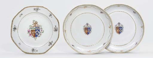 A FAMILLE ROSE ARMORIAL OCTAGO