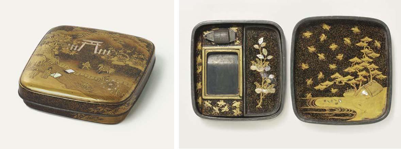 A Small Suzuribako [Box for Writing Utensils]
