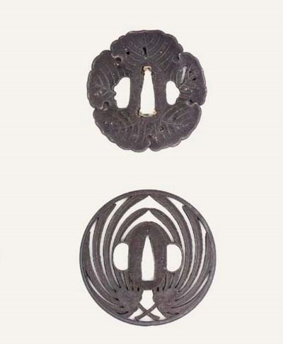 A Choshu Tsuba by Kaneko Yukih