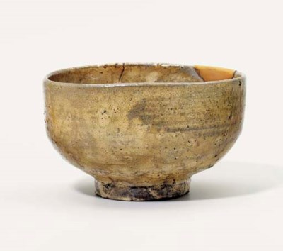 A Hagi Chawan [Tea Bowl]