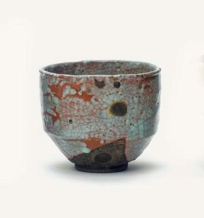 A Shino style Chawan [tea-bowl