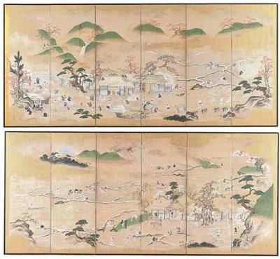 Kano Shunsho (1730-1797)