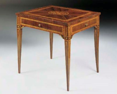 A NORTH ITALIAN ROSEWOOD, KING