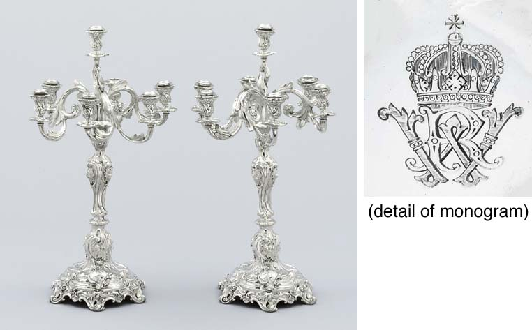 A pair of German Royal Prussia