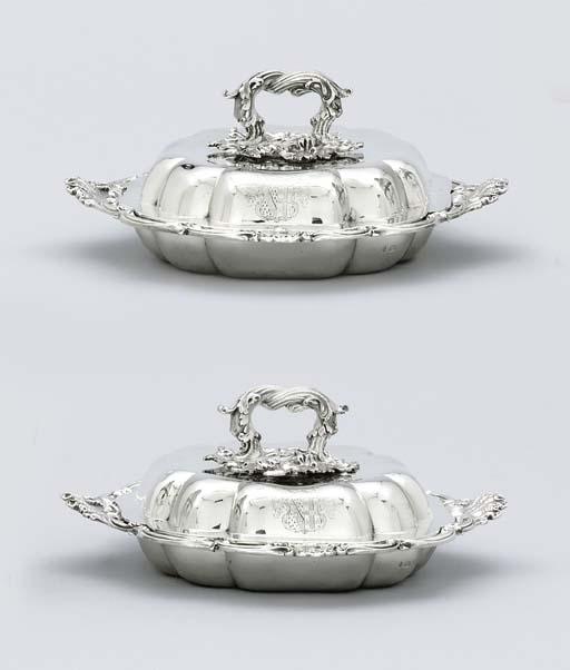 A Victorian silver-gilt mounte