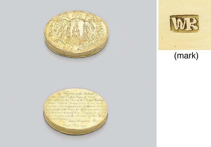 A George III Irish Royal gold