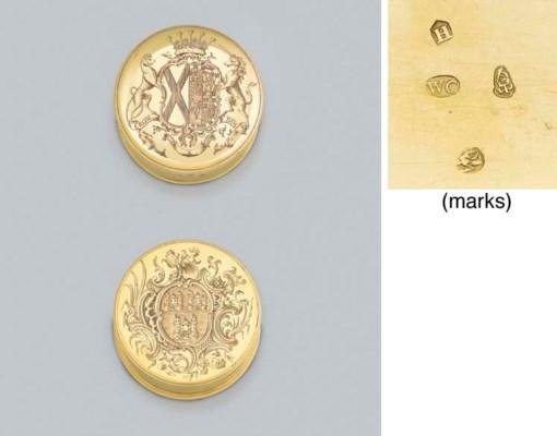 A George II Irish gold freedom