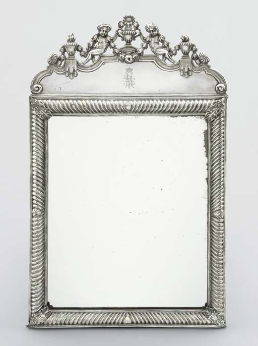 A William and Mary silver-moun